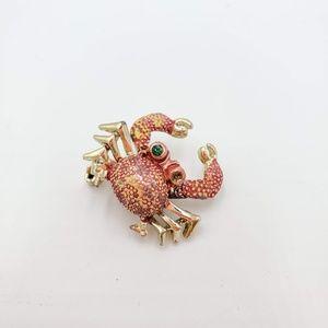 Jewelry - Vintage Crab Brooch